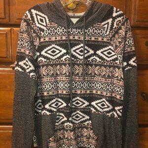 Knit hoodie!